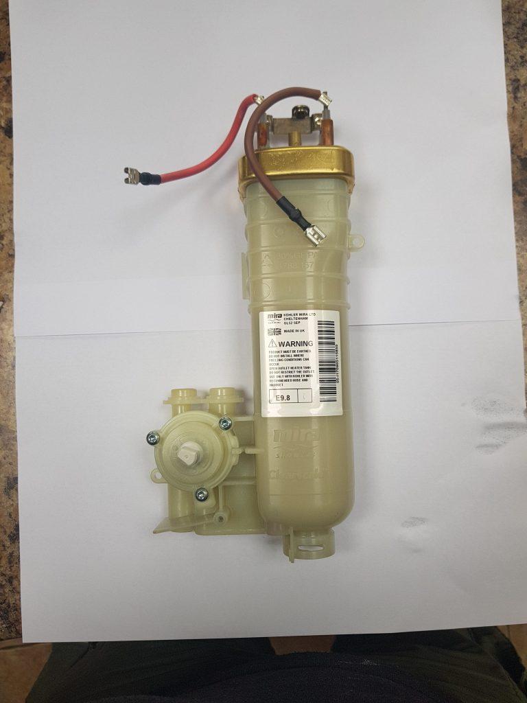 Mira Elite QT Heater Tank Assembly 9 8Kw - Dublin Shower Repair